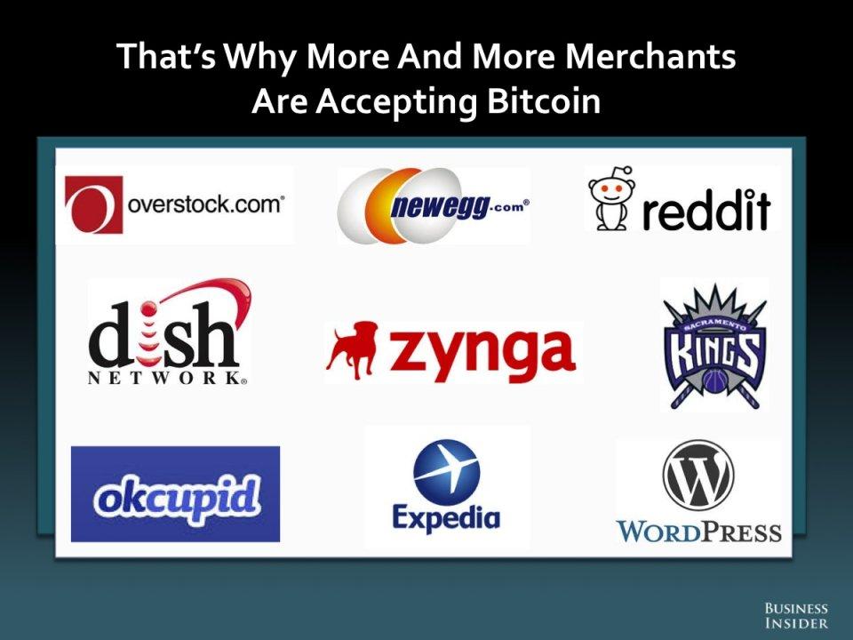 merchants accepting bitcoin