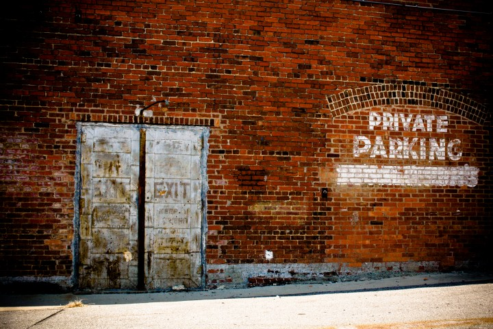 Brick Wall Private Parking