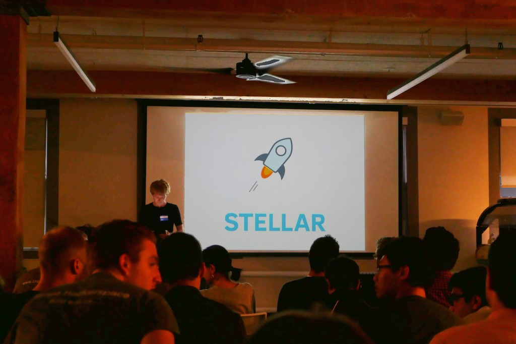 Patrick Collison, Cofounder and CEO of Stripe at the Stellar San Francisco Meetup