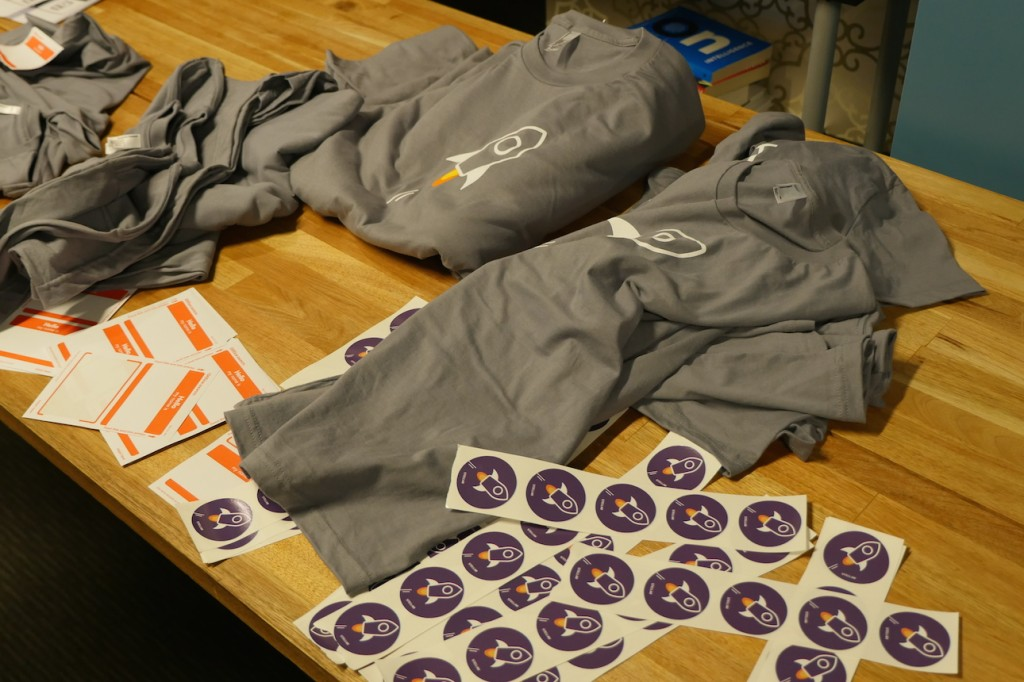 Stellar swag: shirts and stickers