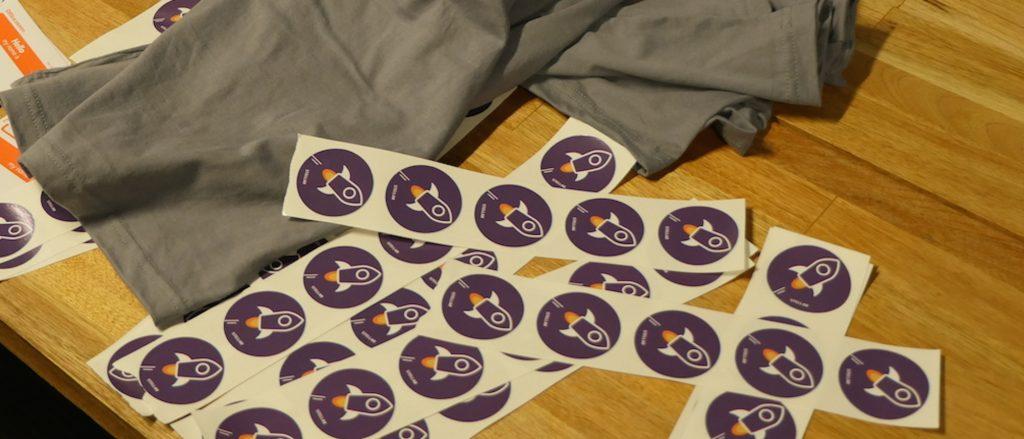 Stellar logo stickers