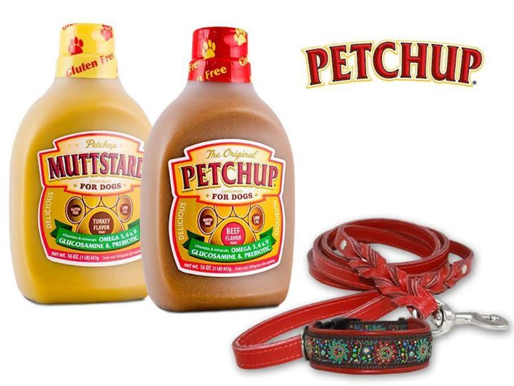 Petchup and Muttstard Bottles