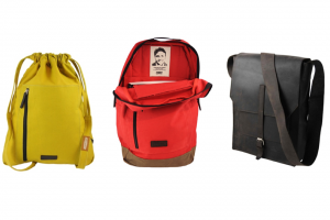 Causegear bags, including example of crafter face tag