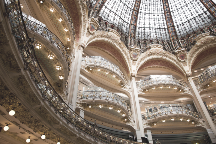 The dome of Gallery Lafayette
