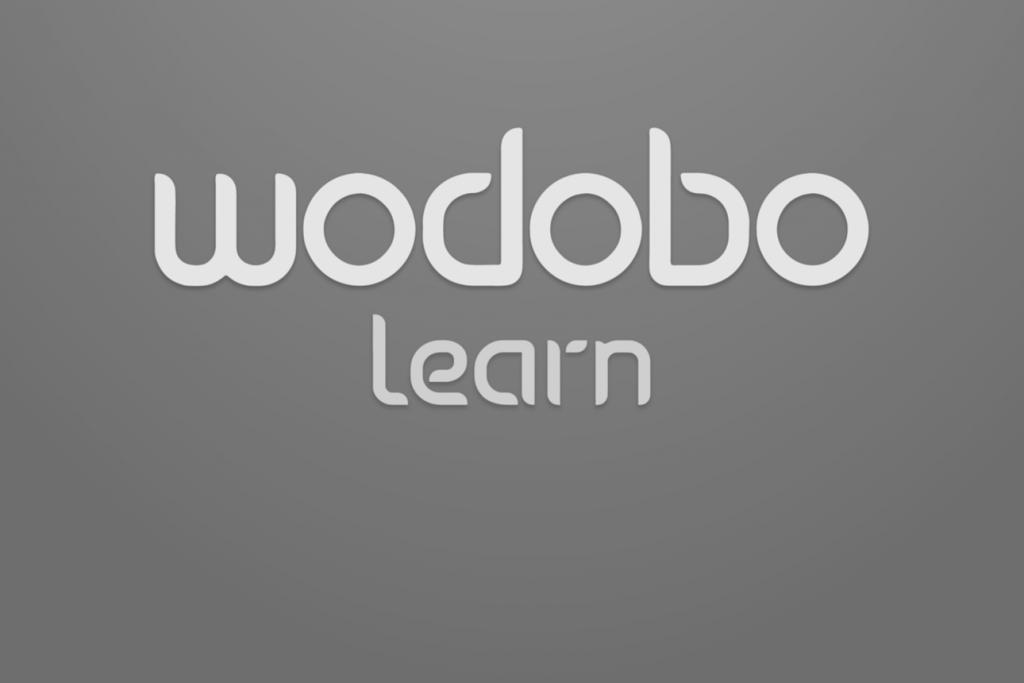 Wodobo learn logo