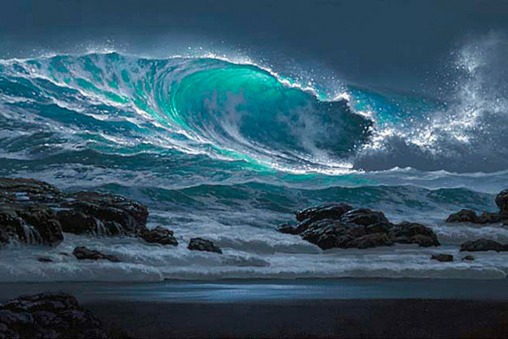 Tabora Gallery Wave Painting