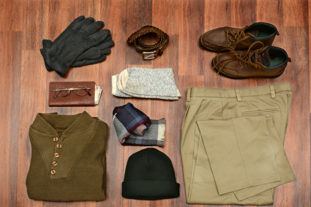A Collection of Menswear