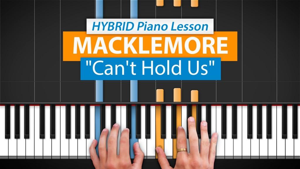 HDPiano hands at piano keys