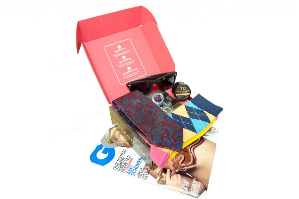 Gentleman's Subscription Box example box