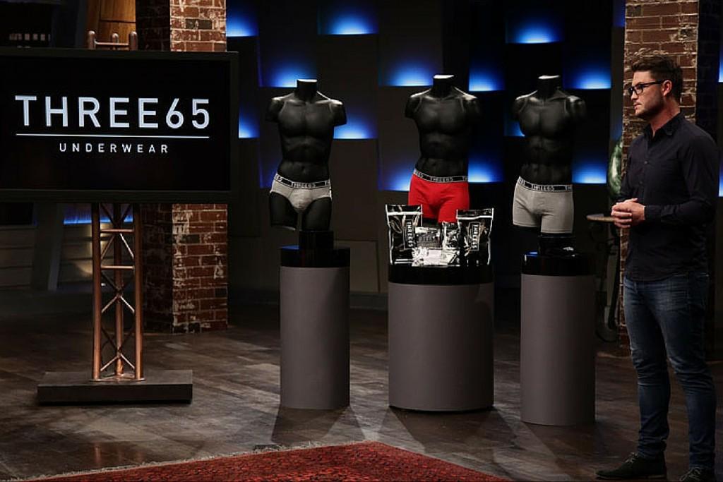 Will Strange on Shark Tank Australia - Three65 Underwear Subscription