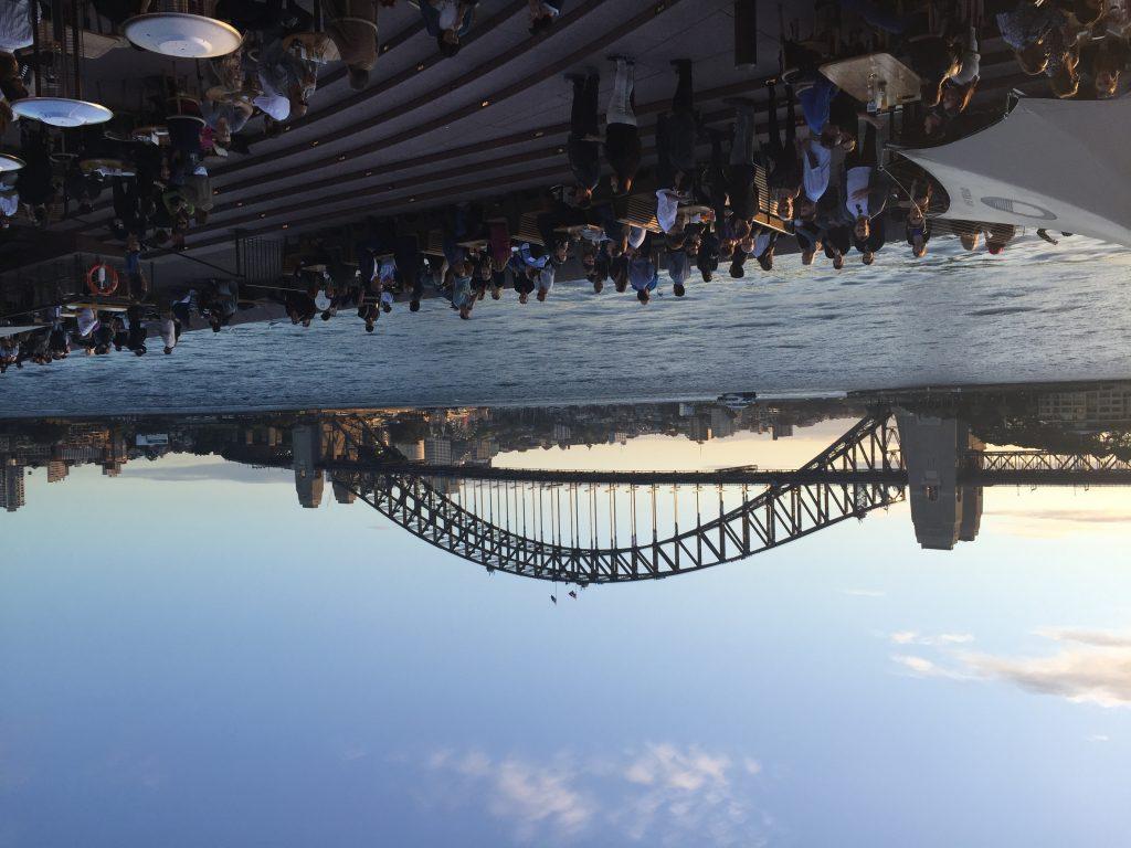 View of Sydney Harbour Bridge and Sydney Harbour