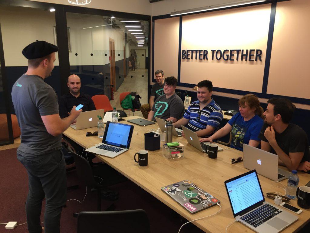 Matt Robot Ninja presentation Prosparis